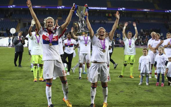 Kadınlar Şampiyonlar Ligi şampiyonu Lyon oldu