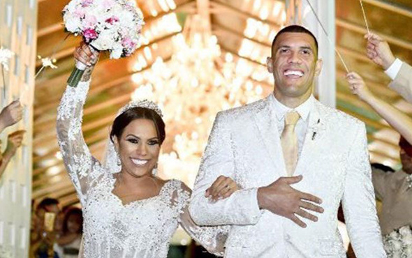 Fernandao eşi ile nikah tazeledi