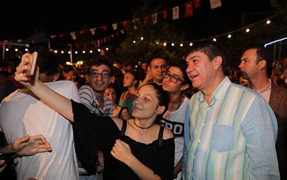 Antalya bayramı Murat Dalkılıç'la yaşadı