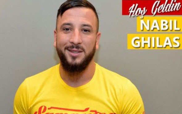 Göztepe Gaziantepspor'dan Nabil Ghilas'ı transfer etti