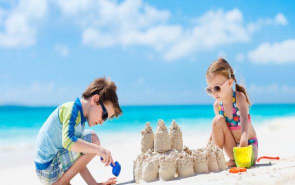 Çocuğunuzla tatil yapacaksanız bunlara dikkat!
