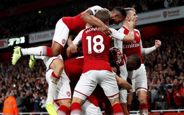 Arsenal'den muhteşem açılış