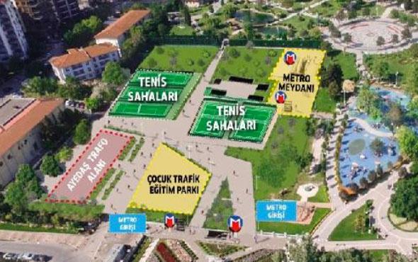 Ümraniye- Ataşehir- Göztepe metro istasyon çalışmaları başladı