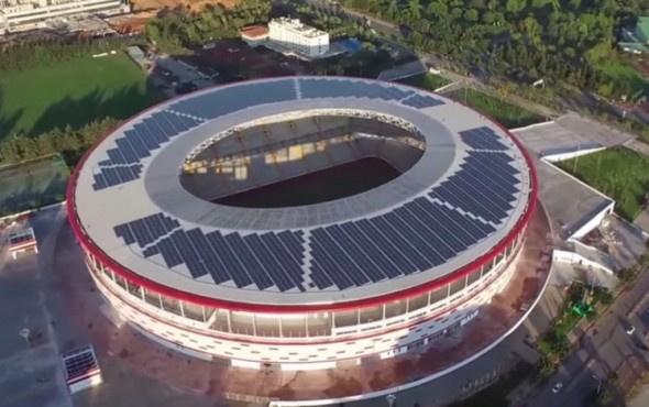 Antalya Stadı'nın isim sponsoru açıklandı
