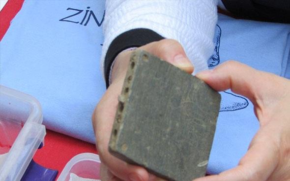 Gaziantep'te 8. yüzyıldan kalan bir makyaj çantası bulundu
