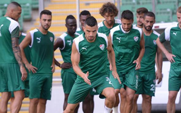 Bursaspor Alanyaspor maçına hazır