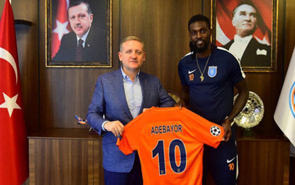 Başakşehir Adebayor ile 2 yıllık sözleşme uzattı
