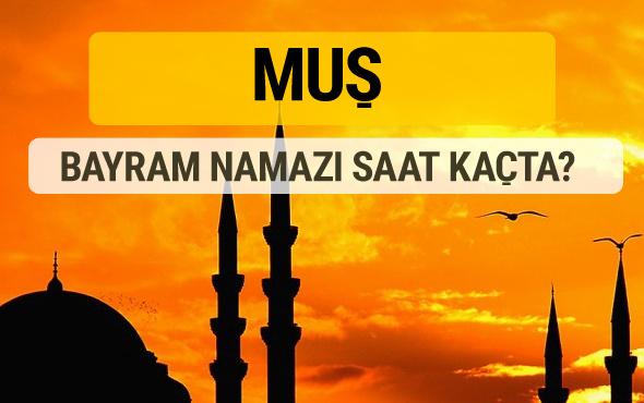 Muş Kurban bayramı namazı saati - 2017
