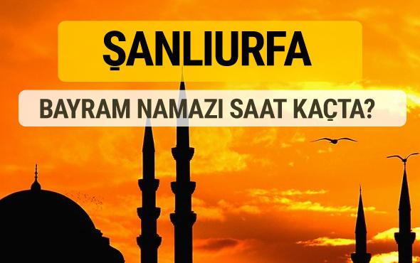 Şanlıurfa Kurban bayramı namazı saati - 2017