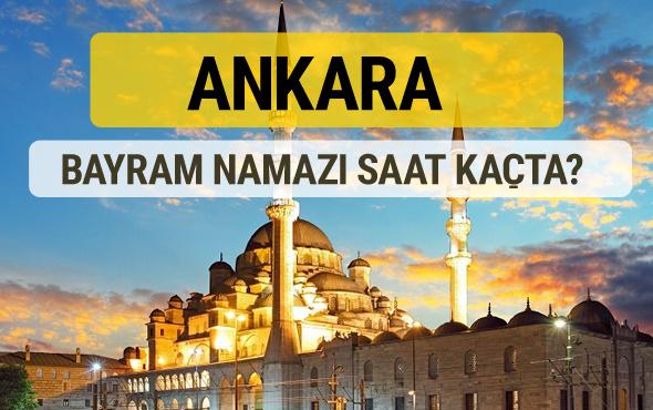 Ankara bayram namazı saat kaçta 2 rekat nasıl kılınır?