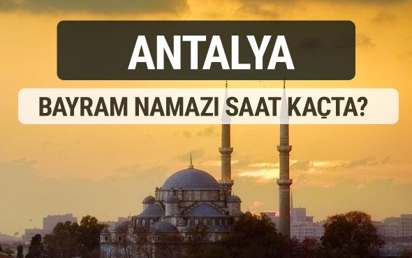 Antalya bayram namazı saat kaçta 2017 ezan vakti