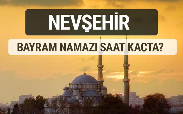 Nevşehir bayram namazı saat kaçta 2017 ezan vakti