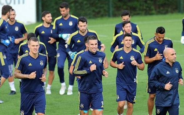 Fenerbahçe Alanyaspor mesaisine başladı
