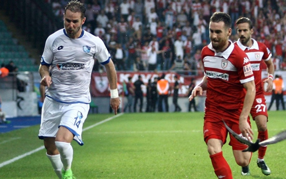 Erzurumspor ile Samsunspor puanı paylaştı