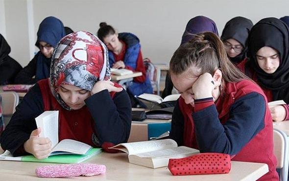 İmam Hatip Lisesi ve ortaokullarına kaç öğrenci gidiyor?