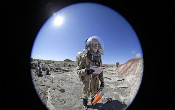 Marsta yaşam deneyi tamamlandı