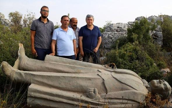 Atatürk heykelinin araziye atılmasıyla ilgili yeni gelişme