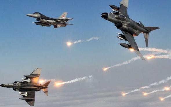 Türk jetleri önce tespit etti sonra bombaladı