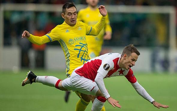 Astana Slavia Prag ile berabere kaldı