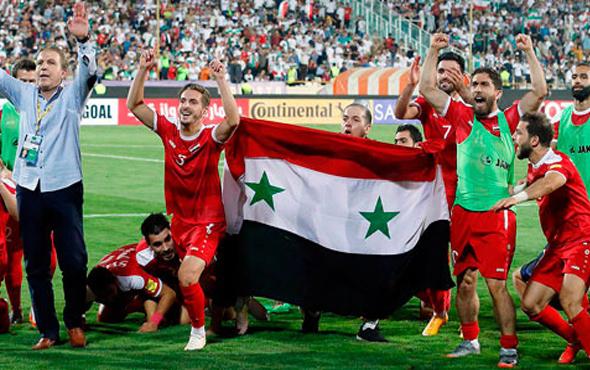 Suriye 90+3'te play-off'a kaldı