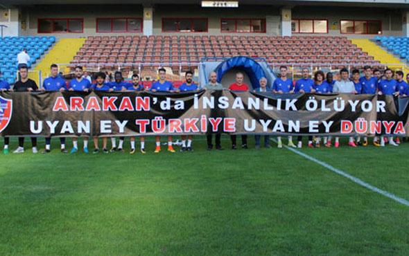 Kardemir Karabükspor'dan Arakan'a destek