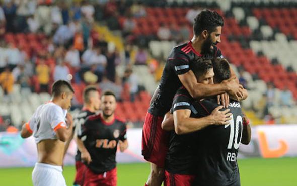 Gaziantep Adanaspor'a gol yağdırdı