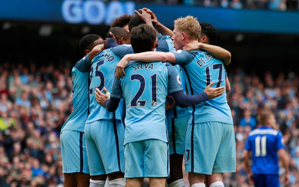Manchester City Liverpool'a 5 attı