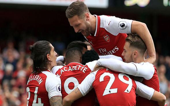Arsenal evinde rahat kazandı