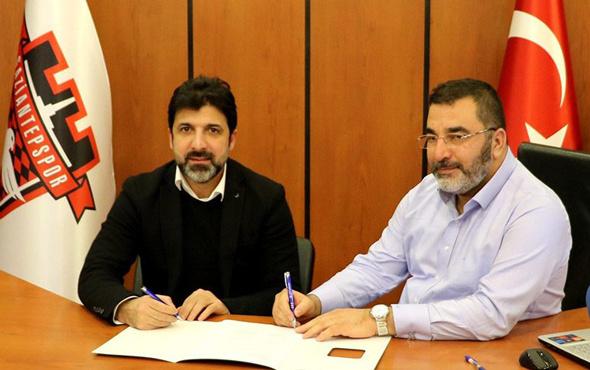 Oktay Derelioğlu Gaziantepspor ile imzaladı