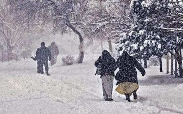 Nevşehir hava durumu meteoroloji kar alarmı verdi