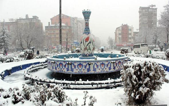 Kütahya hava durumu meteoroloji kar alarmı verdi