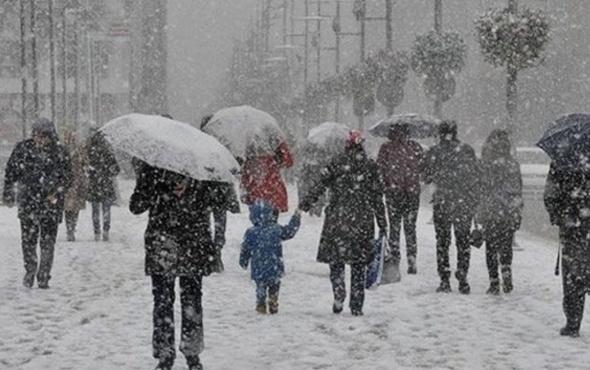 Tokat hava durumu meteoroloji kar alarmı verdi