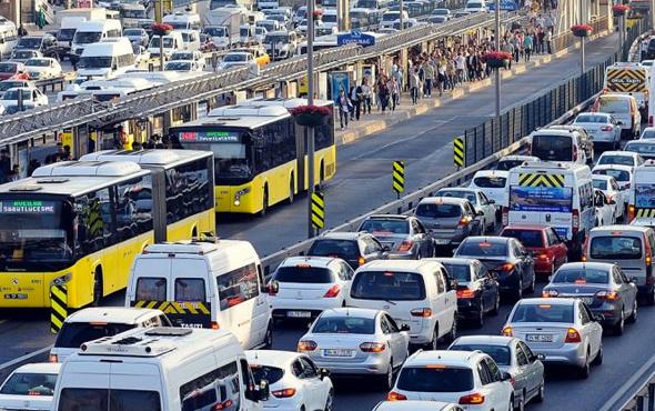 6.3 milyon araç tespit edildi bin 206 TL ceza geliyor