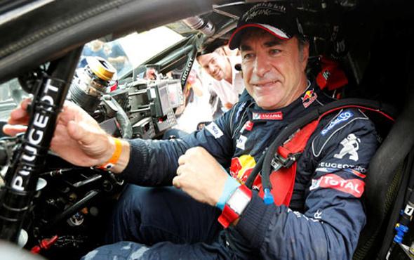 Dakar'da şampiyon Carlos Sainz