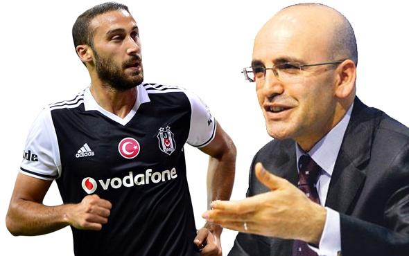 Mehmet Şimşek'ten Cenk Tosun için flaş yorum!