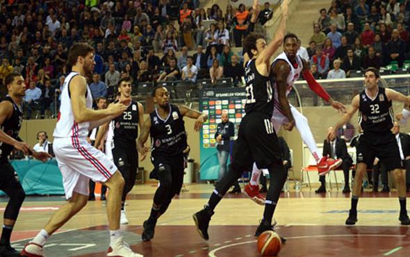 Beşiktaş Eskişehir Basket'i devirdi