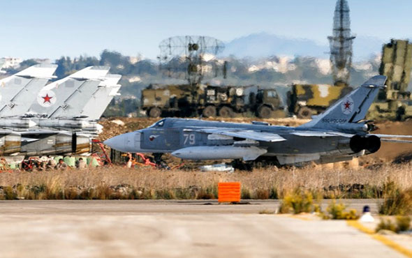 Suriye'deki o Rus üssü yine vuruldu! Bu sefer S-400 isabet aldı...