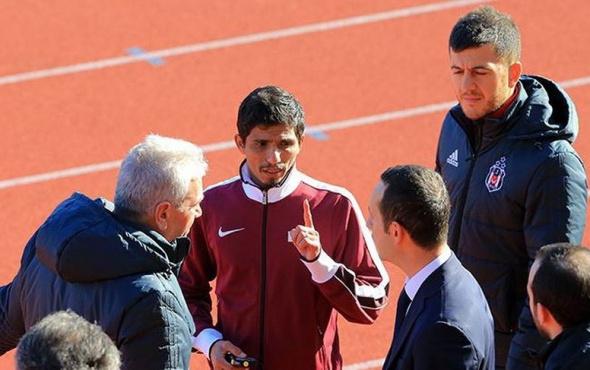 Beşiktaş idmanında Katarlı atlet krizi