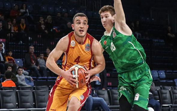 Galatasaray basketbolda eriyor