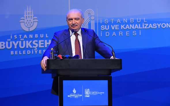 İBB Başkanı Mevlüt Uysal: Su ile ilgili çalışmalarımızla iftihar ediyoruz