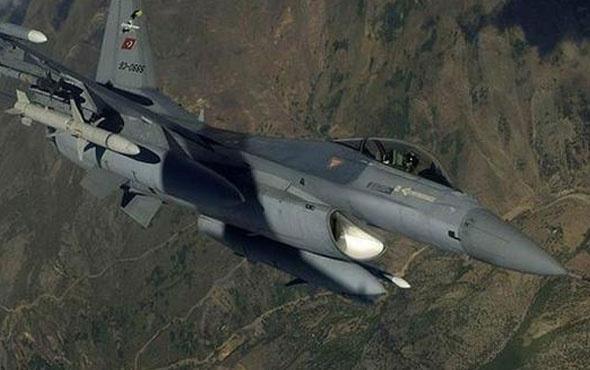 Kuzey Irak'taki teröristlere hava herakatı