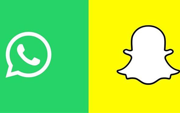 WhatsApp'a bomba Snapchat özelliği!