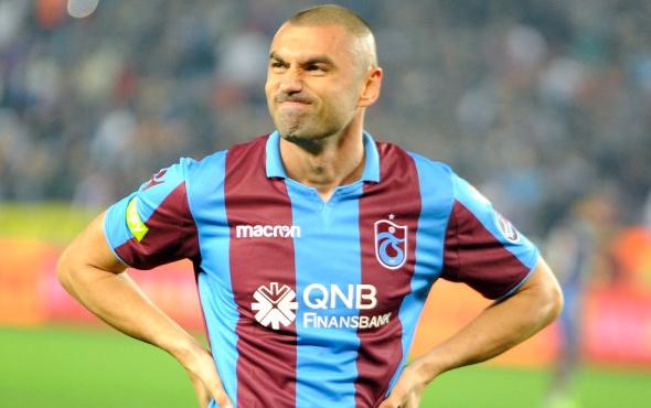 Trabzonspor'da Burak Yılmaz kadro dışı