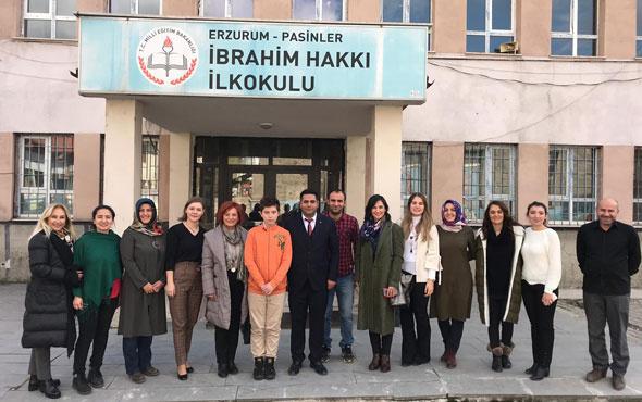 Doğa Koleji Erzurum'daki Müge öğretmenin çağrısına kayıtsız kalmadı