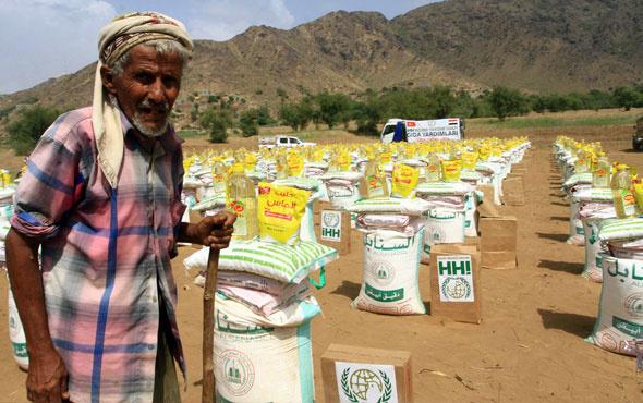 Türkiye'den Yemen'e acil yardım