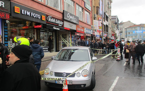 Üsküdar'da korkunç olay! Sokak ortasında kasıklarına sıktılar