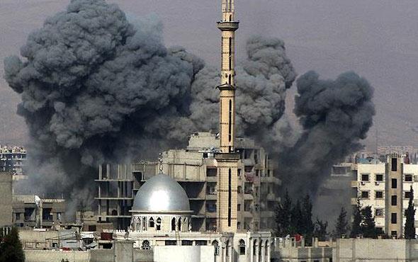 Esad rejimi Doğu Guta'yı klor gazıyla vurdu!