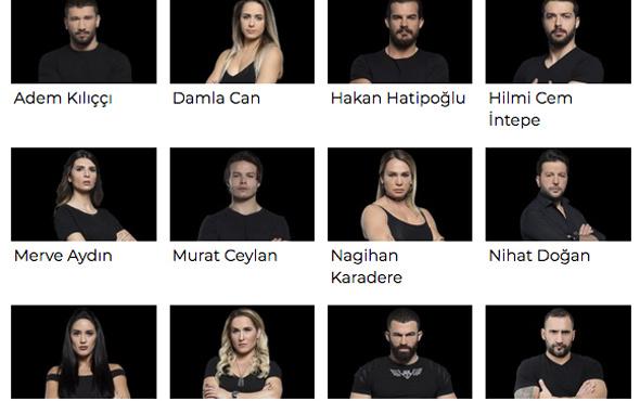 Survivor 2018 ünlüler takımı kadrosu kim kaç kere katıldı?