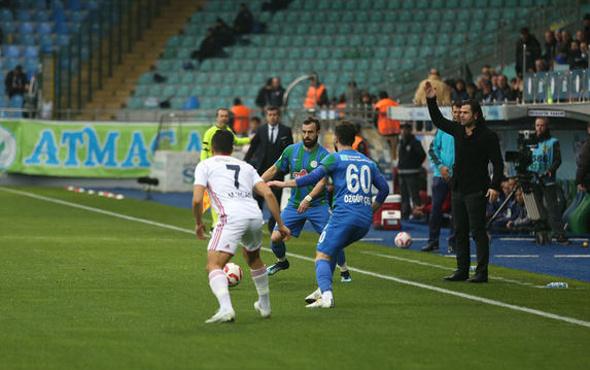 Altınordu Rize'de gol oldu yağdı