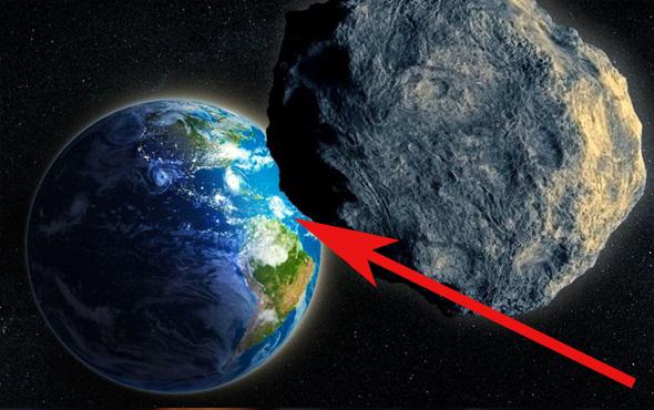 Dünya'nın yakınından yine bir asteroit geçecek